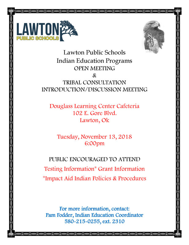 LPS Indian Education Program Open Meeting